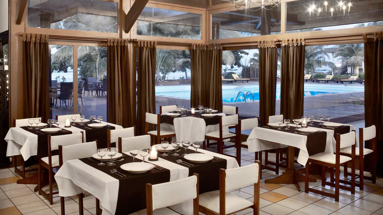 Hotel Mandji Port Gentil Gabon - Itanda Restaurant
